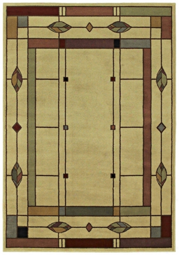 "Timber Lake Mission 2' 6""x7' 10"" Runner (g3516)"