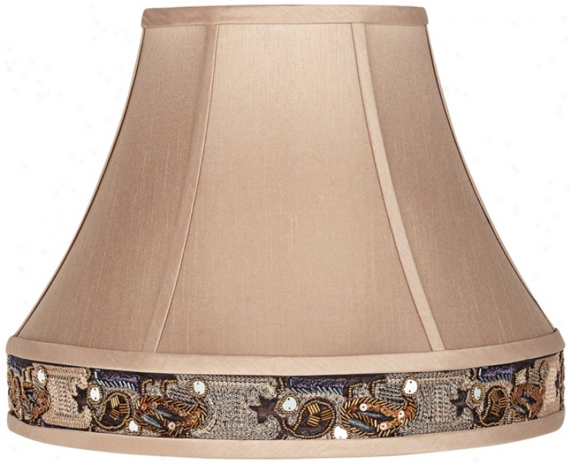 Toffee Gallery Tirm Bell Lamp Shade 8x16x13 (spider) (v3733)