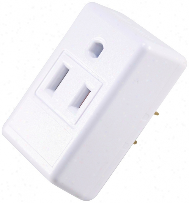Toouch And Glow Automatic Dusk To Dawn Light Control Plug (r6062)