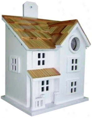 Town And Country Bird House (h9696)