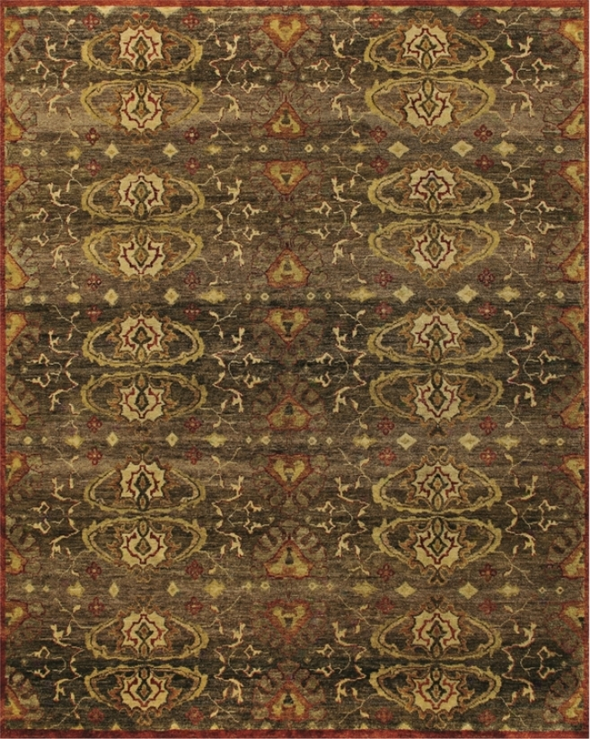 "Tracy oPrter Collection Amzad Umber 7'9""x9'9"" Area Rug (v5639)"