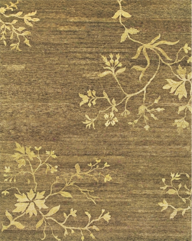 "Tracy Porter Cordonnet Brown 7""9'x9'9"" Area Rug (v5689)"