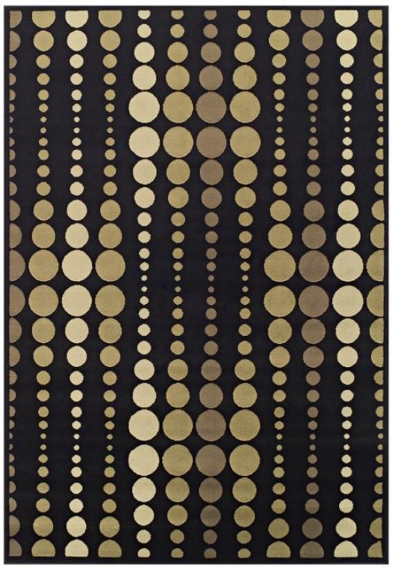 Tremont Collectikn Strands Black Area Rug (n5664)