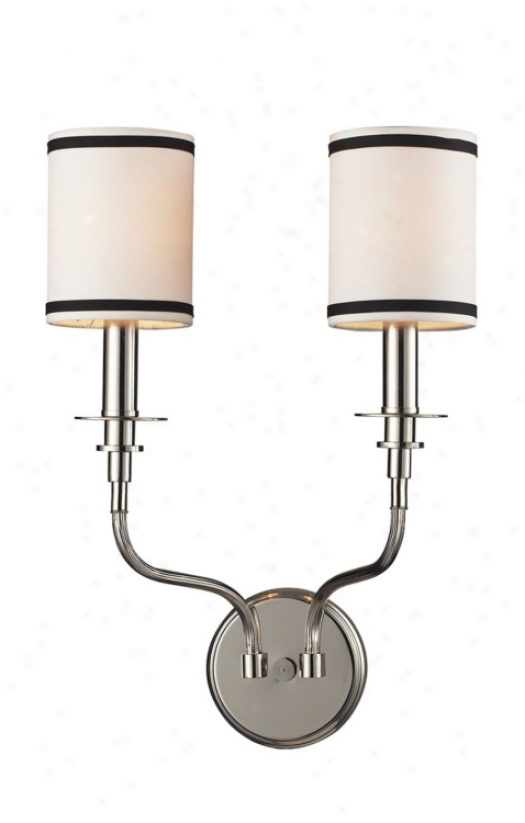 """Tribeca Collection 19"""" High 2-light Wall Sconce (74484)"""