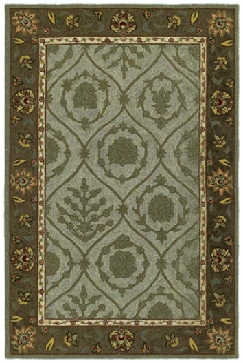 "Turner Creek Robins Egg 7' 6""x9' Area Rug (m7059)"
