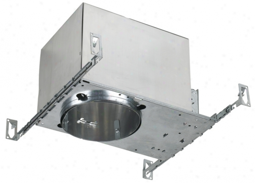 """Twin Compact Fluorescent 6"""" Ic Recessed Light Housing (57195)"""