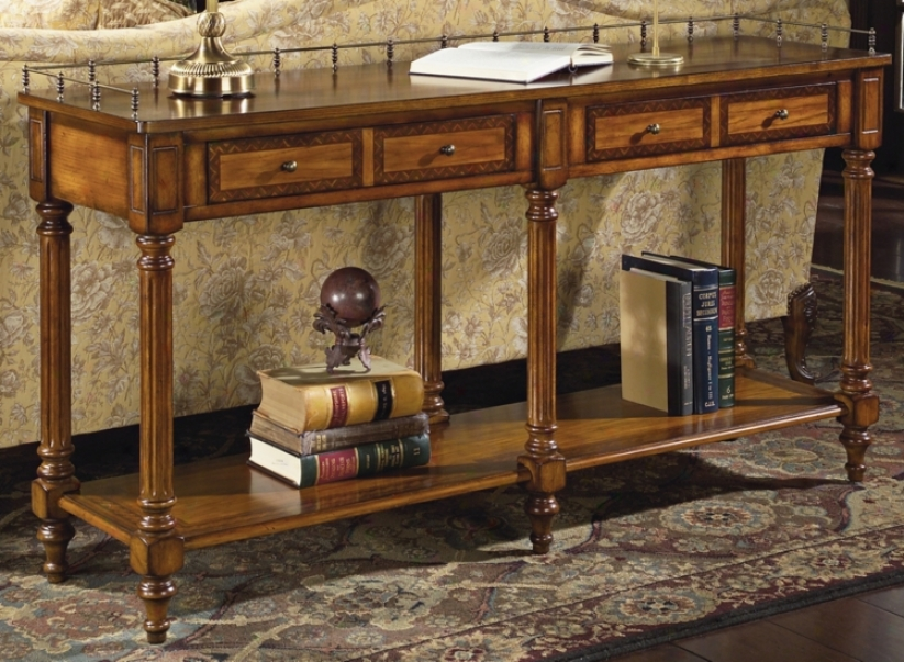 "Umber 32"" High Console Table (g2724)"