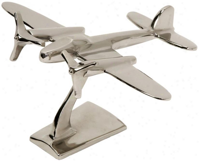 Up In The Air Aluminum Level Statuary (t9915)
