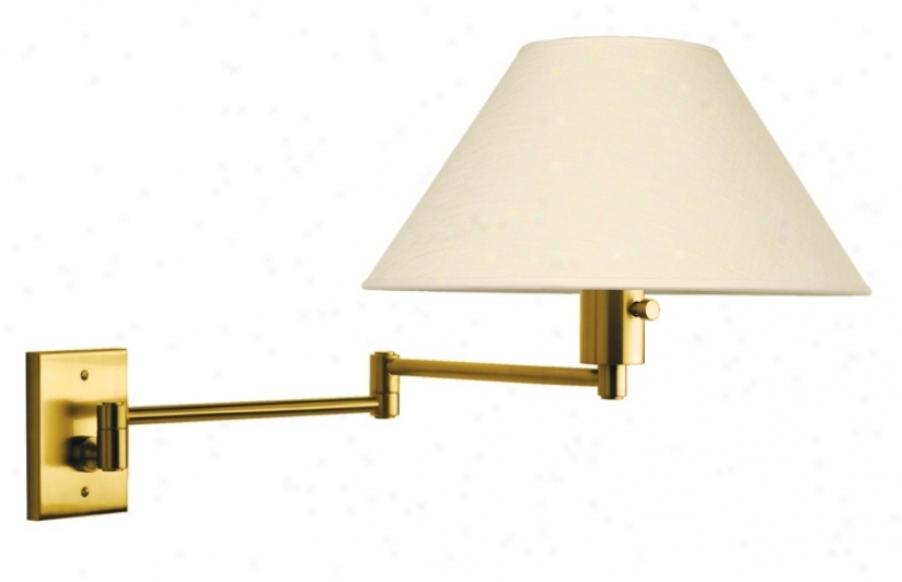 Urban Avenue Series Brushed Brass Hard-wire Swing Fortify (j1131)