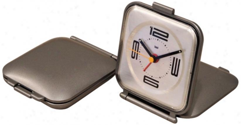 Velocity Time Capsule Travel Alarm Clock (v8610)