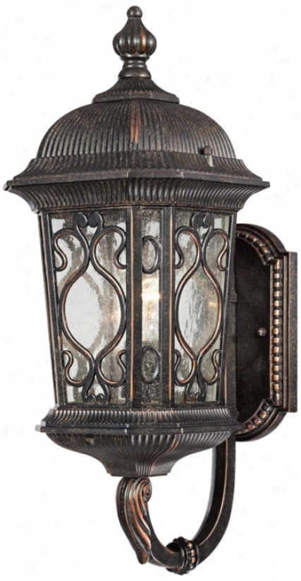 "Veranda Collection 17"" High Outdoor Wall Up-light (t6198)"