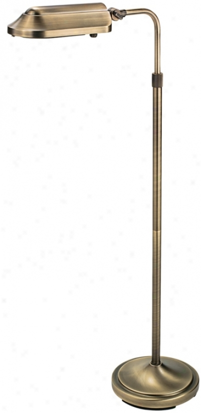 Verilux Heritage Energy Cause Pharmacy Floor Lamp (g1633)