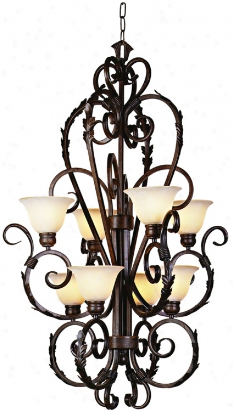 Vicosa Collection Eight Light Entryway Chandelier (24118)