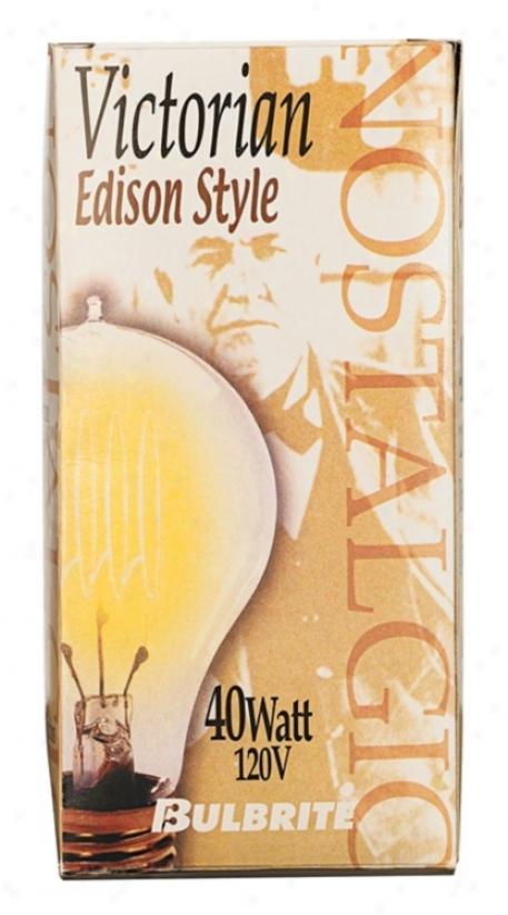 Victorian Edison Style 40 Watt Light Bulb (80600)