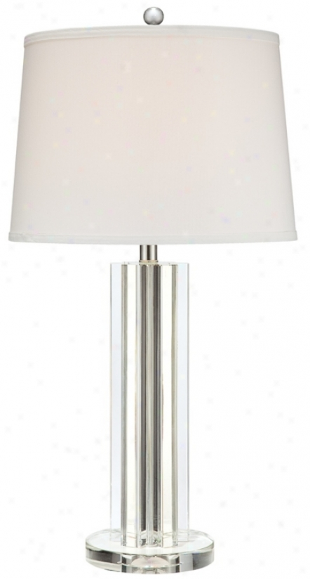 Vienna Full Spectrum Crystal Column Table Lamp (n5516)