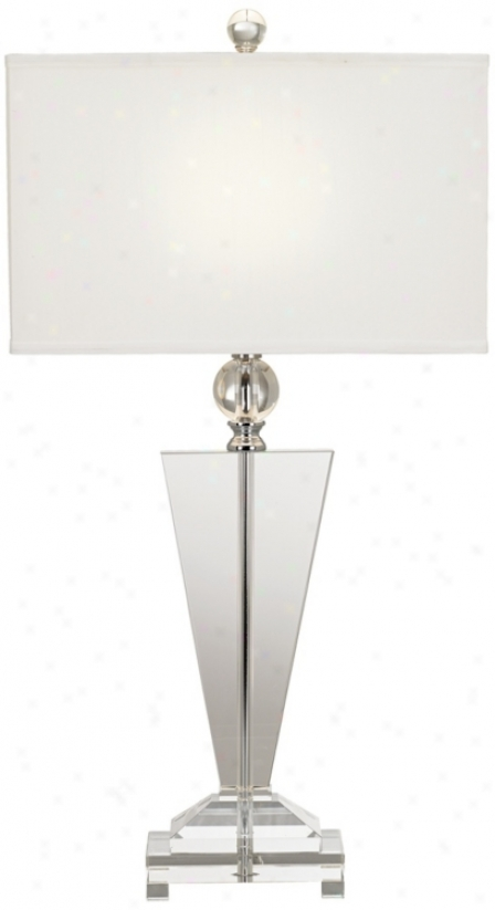 Vienna Full Spectrum Crystal Trophy Table Lamp (60026)
