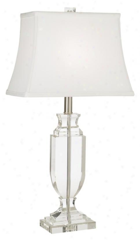 Vienna Full Spectrum Crystql Urn Table Lamp (29037)