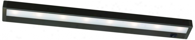 "W.a.c. Bronze 24"" Wide Led Under Ministry Light Bar (m6775)"