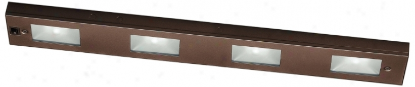 "Wac Bronze Xenon 24"" Wide Under Cabinet Light Bar (m6803)"