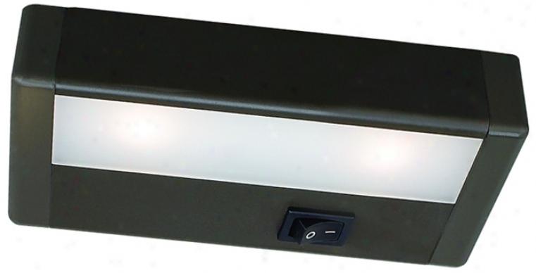 "W.a.c. Led 6"" Wide Bronze Under Cabinet Light Bar (m6763)"