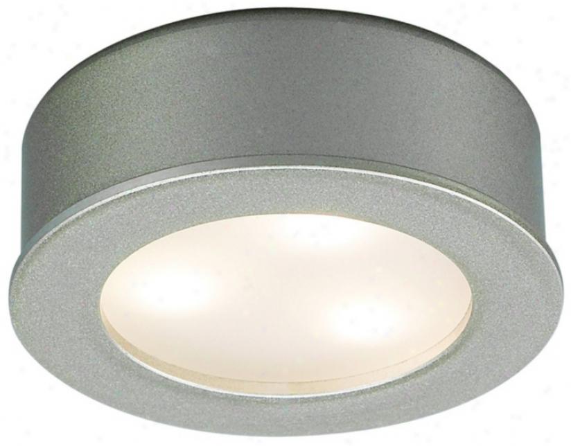 Wac Ledme Brushed Nickel Led Under Cabinet Button Light (k5334)