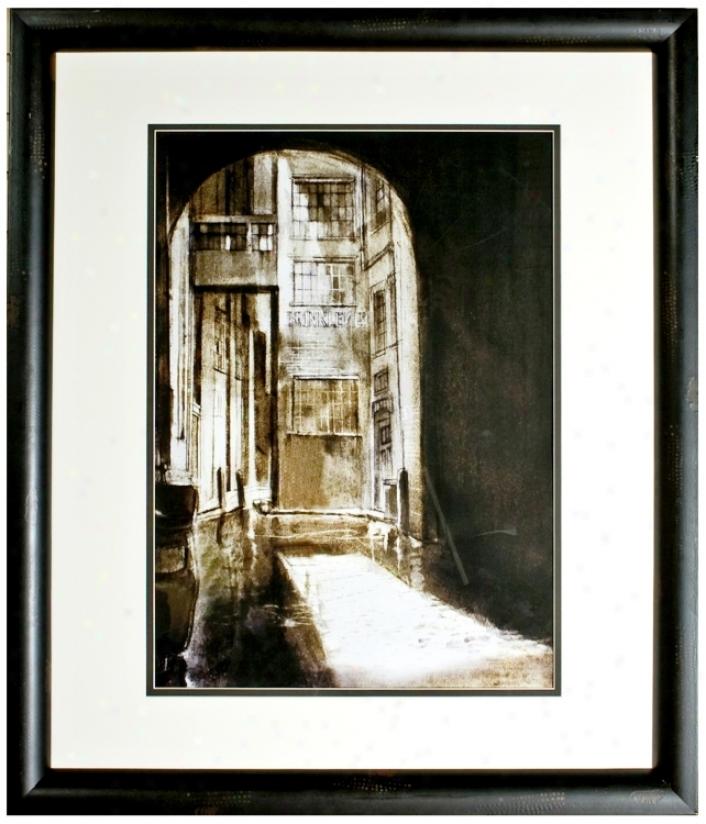 """Walt Disney 101 Dalmatians Archway Framed 39"""" Hih Wall Art (j2753)"""