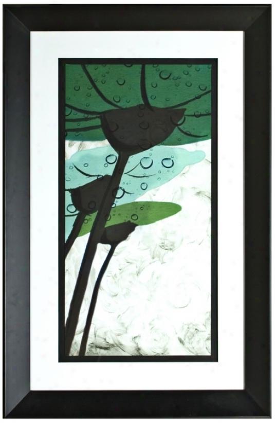 "Walt Disney Alice In Wonderland Iii Framed 34"" High Wall Art (j2871)"