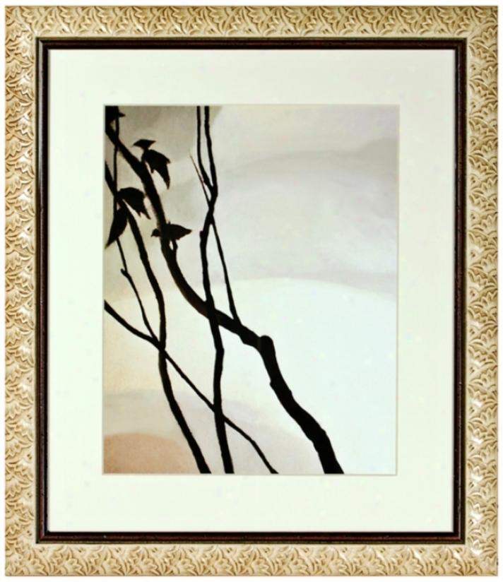 "Walt Disney Babmi Forest Ii Print Framed 31"" High Wall Art (j2831)"