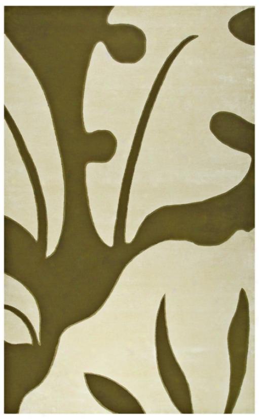 Walt Disney Signaure Olive 10' X 13' Neverland  Rug (j9357)