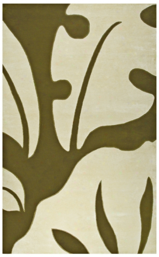Walt Disney Signature Olive 8' X 11' Neverland  Rug (j9356)
