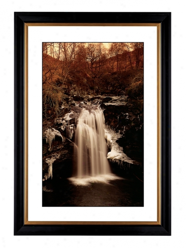 "Waterfall Ii Giclee 41 3/8"" High Wall Art (54317-80384)"