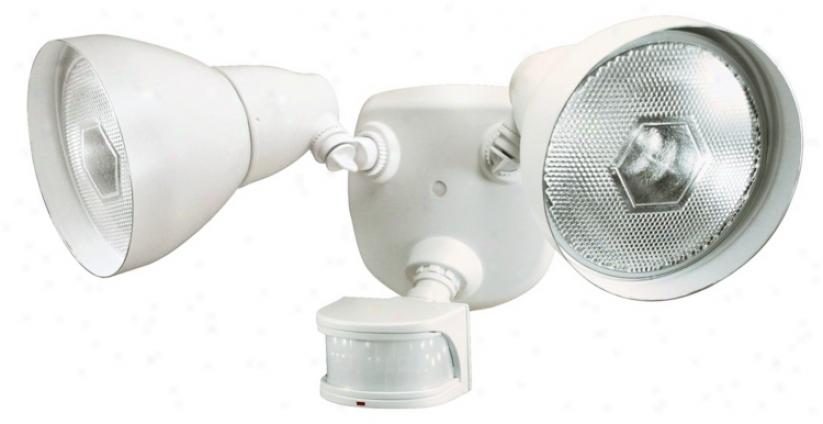 "Pure Energy Star 17"" 2-light Motion Sensor Security Light (k6515)"