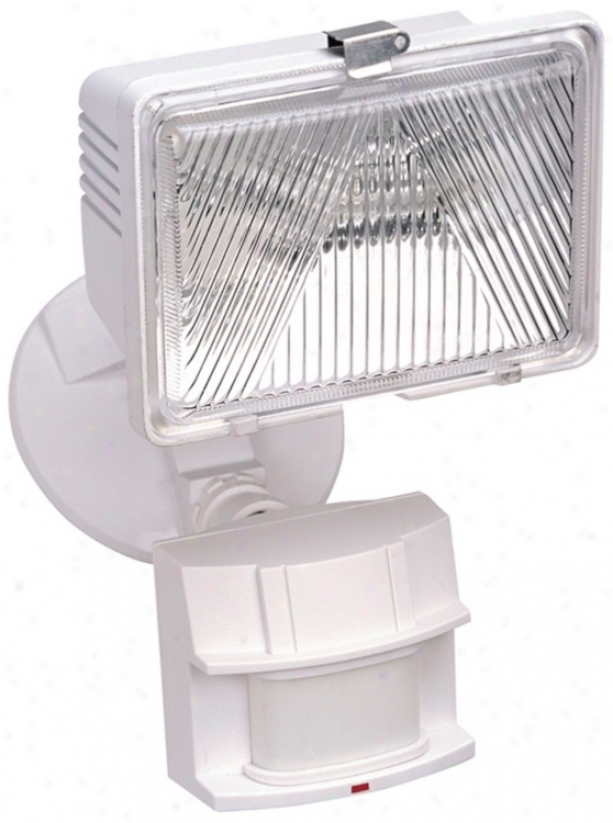 White Energy Star Dark Sky Motion Sensor Certainty Light (k6501)