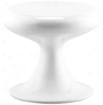 White Mushroom Stool (g4042)