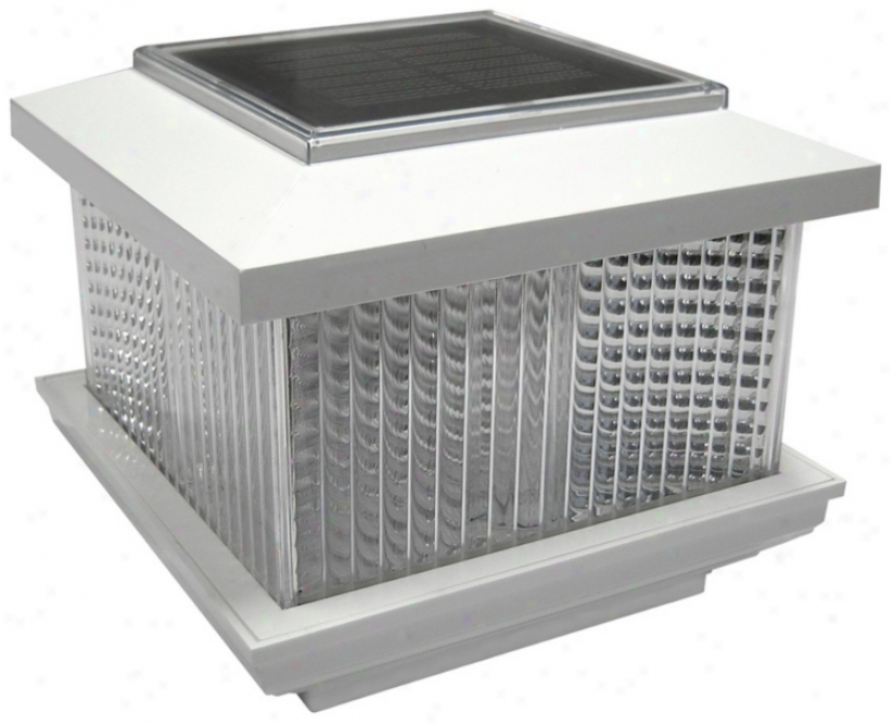 Happy Plastic Solar Powereed Led Fence Light (k6488)