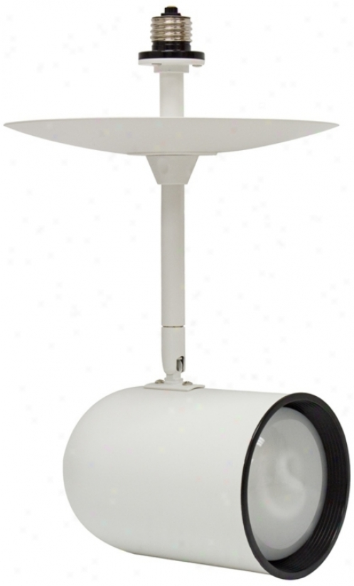 White R40 Bulb Recessed Light Extender (r0882)