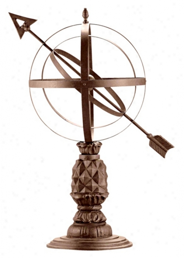 Williamsburg Pineappke Armillary Sphere Garden Statuary (60252)