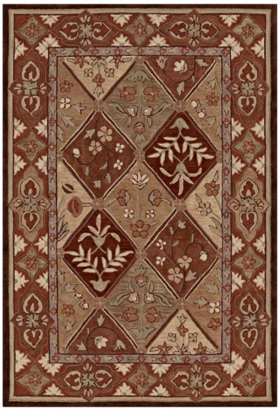 Winchester Assemblage Quincy Chocolate Area Rug (n8814)