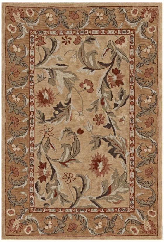 Winchester Collection Salisbury Gold Yard Rug (n7538)