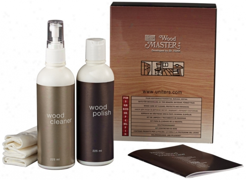 Wood Master Cleaning And Care Kit (u1593)