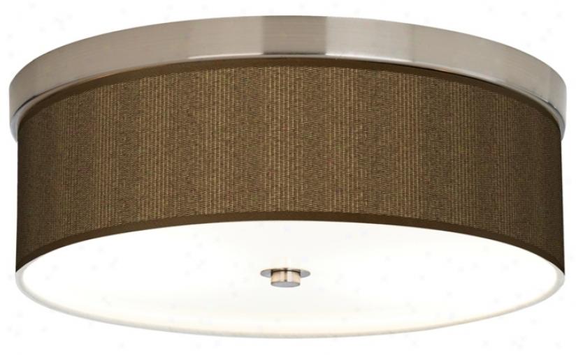 Woven Wicker Giclee Energy Efficient Ceiling Light (h8796-k2077)