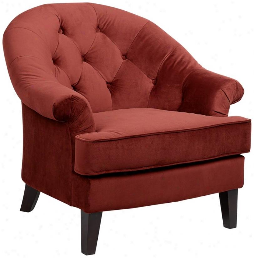 Xian Berry Upholstered Arm Chair (u4611)