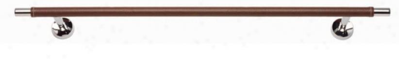 """Zanzibar Collection 24"""" Wide Polished Chrome Towel Bar (22642)"""