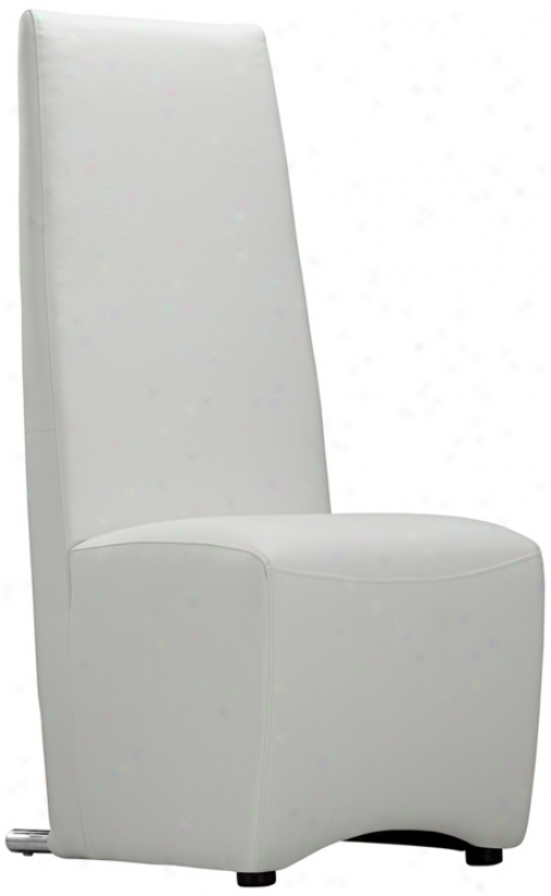 Zuo Reference White Dining Chair (t2401)