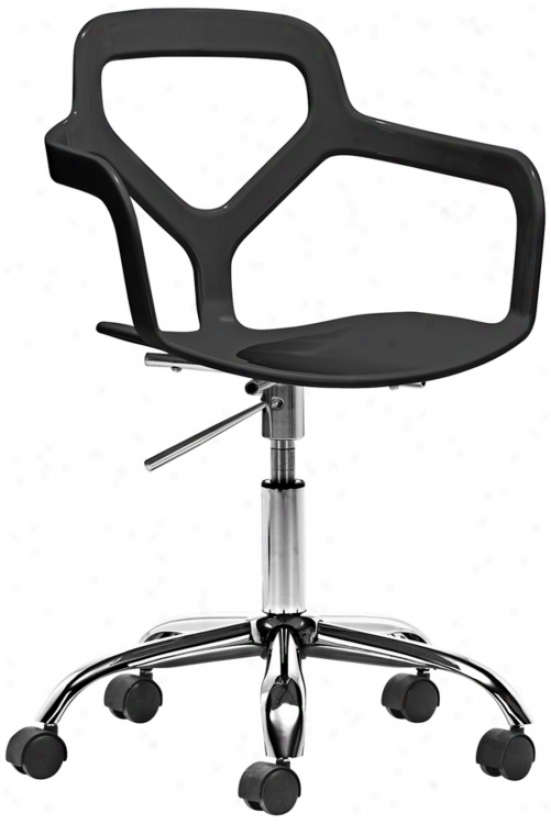 Zuo Angle Black Office Chair (v7425)