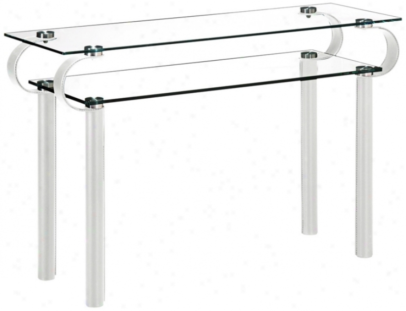 Zuo Coooper White Console Table (m7370)