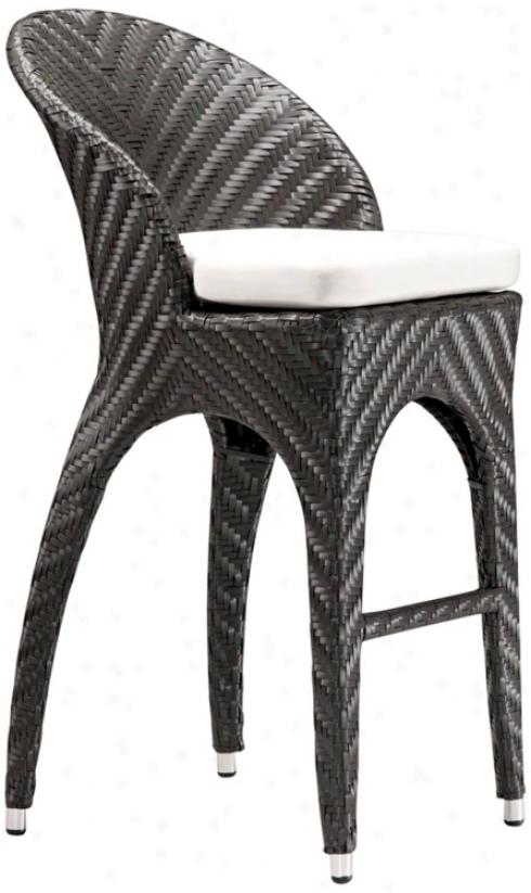 """Zuo Corona 31 1/2"""" High Bar Chair (m7263)"""