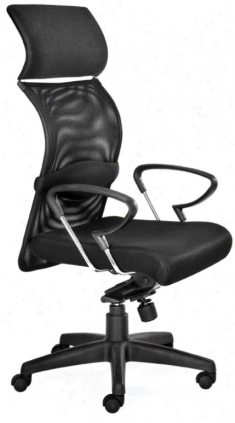 Zuo Eco Black Office Chair (g4069)