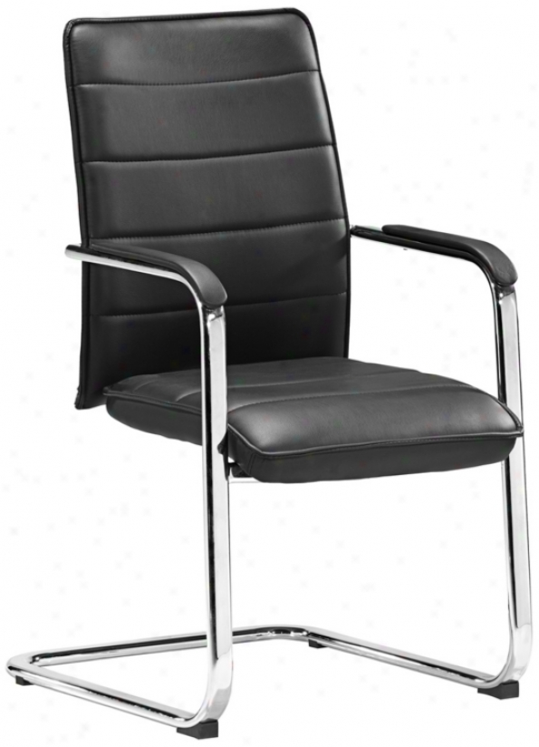 Zuo Enterprise Collection Black Conference Chair (v7462)
