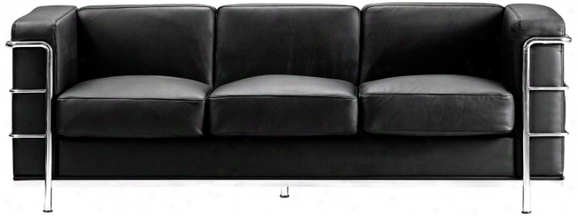 Zuo Fortress Collection Wicked Leather Sofa (g4397)